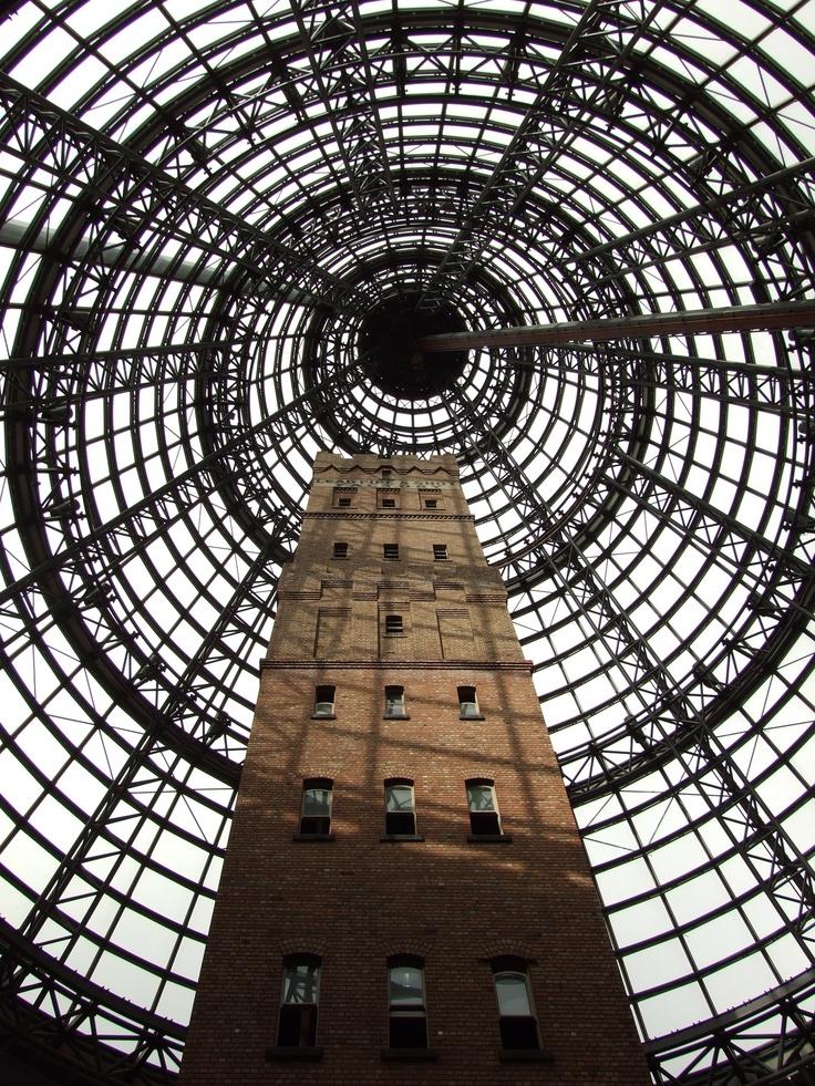 Shot tower at Melbourne Central, 2011