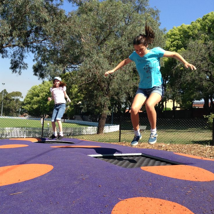 New Playground Upgrade For Monash Park In Gladesville Featuring 2 Person Ground Trampoline