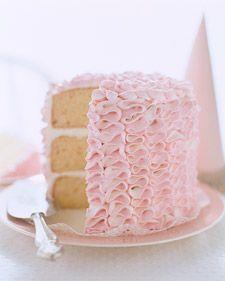 Ruffle Cake #cake