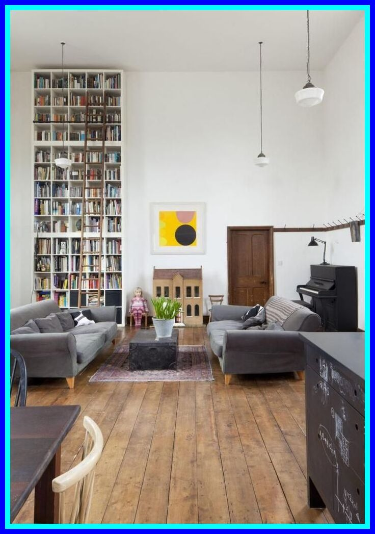 64 reference of tall bookshelf decor in 2020 Interior