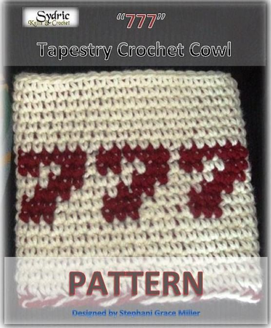 Instant Download Crochet Pattern 777.  Winners Cowl by Sydric, $2.22
