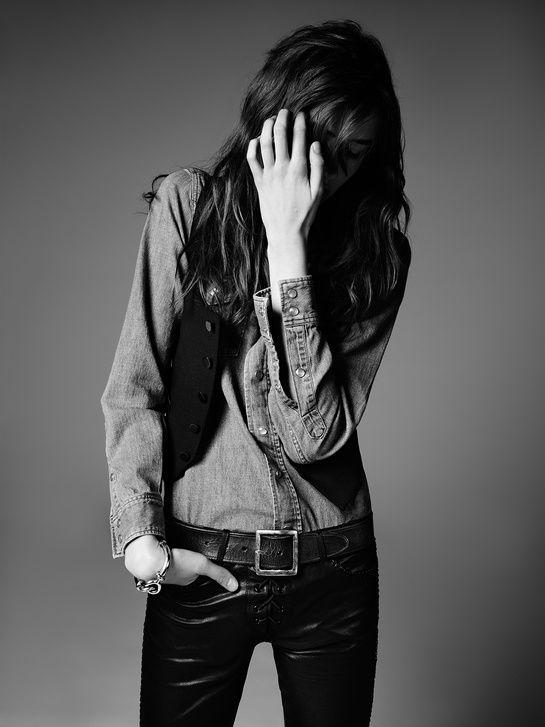 La collection PSYCH ROCK de Saint Laurent par Hedi Slimane 1   Mode   Vogue