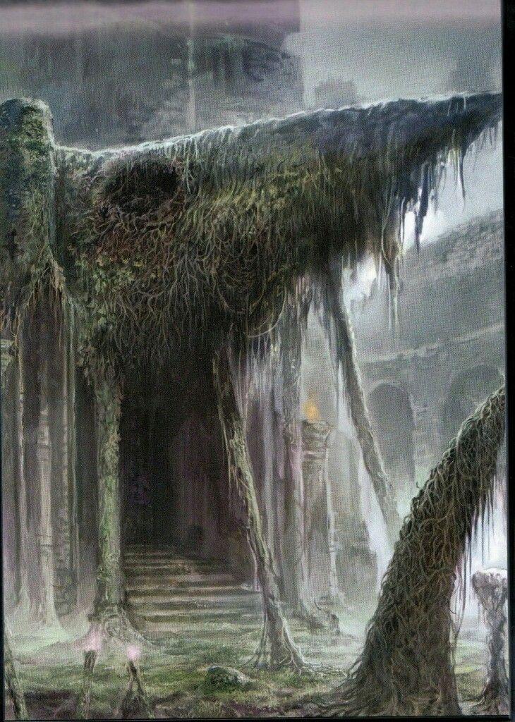 Dark Souls II - Concept Art - Location Art