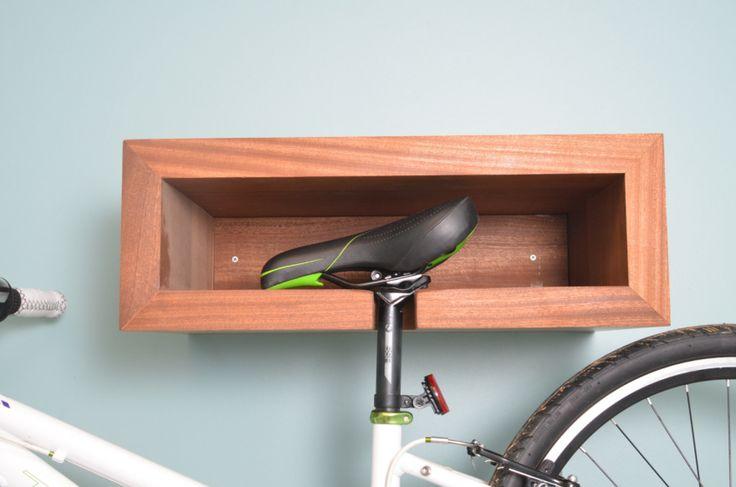 Como guardar bicicletas em ambientes pequenos: peças tipo nichos de parede e…