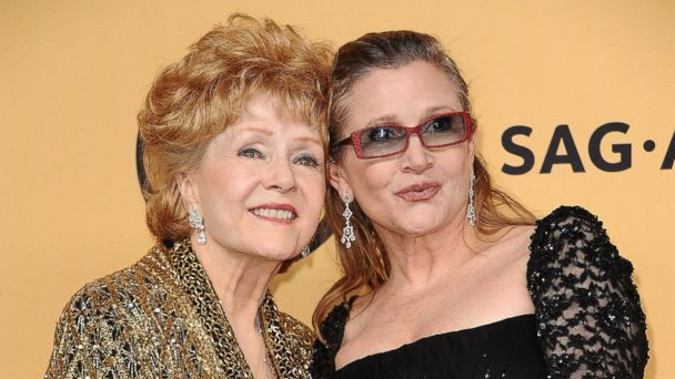 Carrie Fisher's Mother Debbie Reynolds Thanks Fans for Support   abc7.com