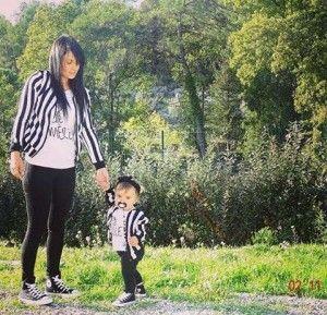Une idée de tenue maman et bébé tellement mignone!