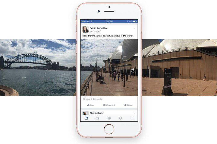 Facebook introduce un par de mejoras para las fotos de 360 grados