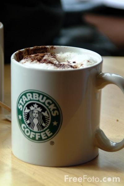 I want a Starbucks cappuccino now!!!