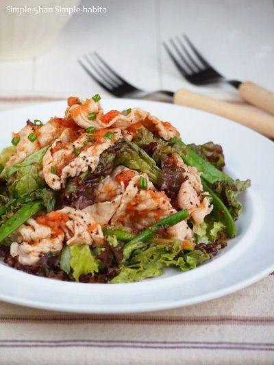 トマトジュースで冷しゃぶサラダ by naomiさん | レシピブログ - 料理 ...