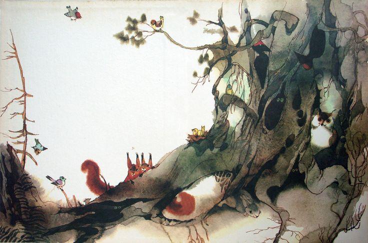 More Jiří Trnka illustrations