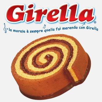 """Girella: un classico della merendina confezionata italiana. Il massimo per i piccoli è """"srotolare"""" la spirale e leccare la cioccolata. Slurp! #ItalianoconRainyLondon"""
