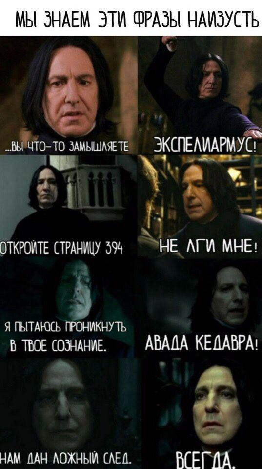 Гарри поттер приколы картинки снейп