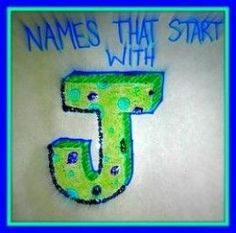 If your looking for baby names that start with J, you've really hit the jackpot my friend. I have designed this page to be the perfect spot to find names that start with the letter J! You can browse by specific categories or check them all out!...