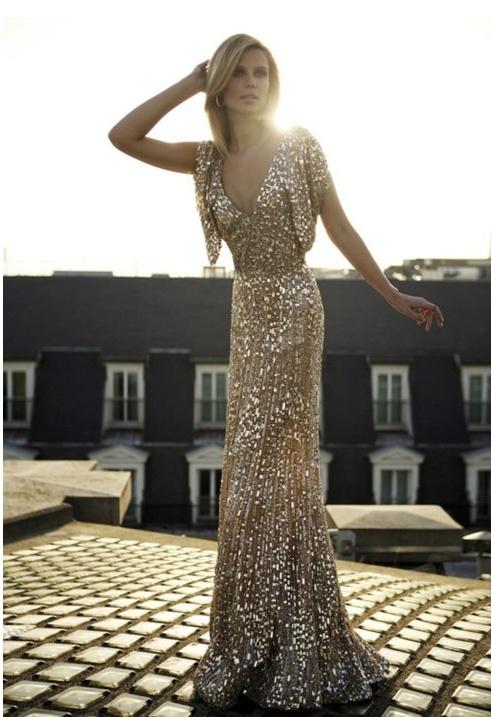 Sparkle!: Charlize Theron, Wedding Dressses, Elie Saab, Evening Gowns, Red Carpets, Sequins Dresses, Gold Sequins, Sparkly Dresses, The Dresses
