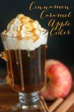 Receta para la sidra de manzana caliente