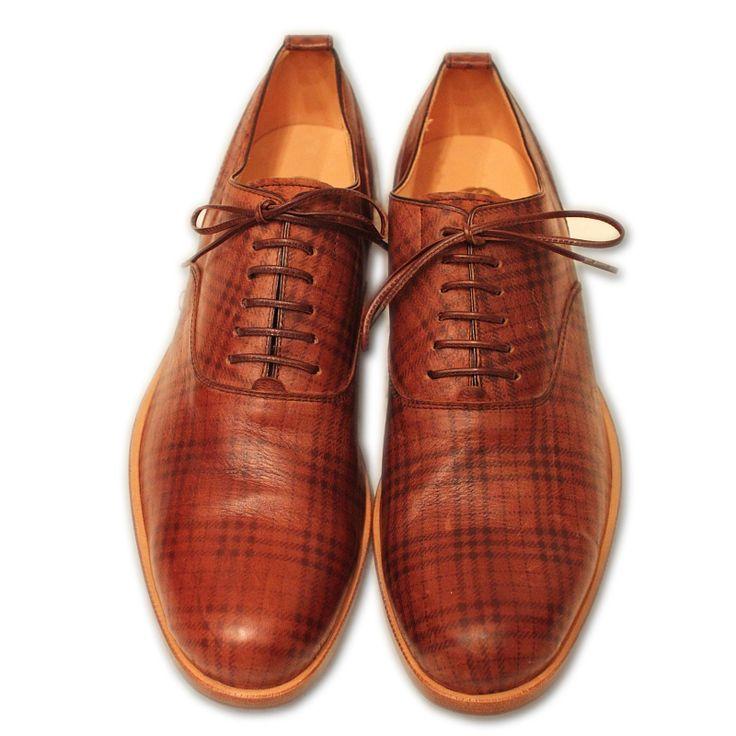 Plaid leather!?