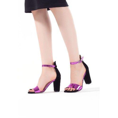 Tua Siyah Süet Parlak Fuşya Bayan Topuklu Ayakkabı 84,00 TL ve ücretsiz kargo ile n11.com'da! Erbilden Klasik Topuk fiyatı Ayakkabı