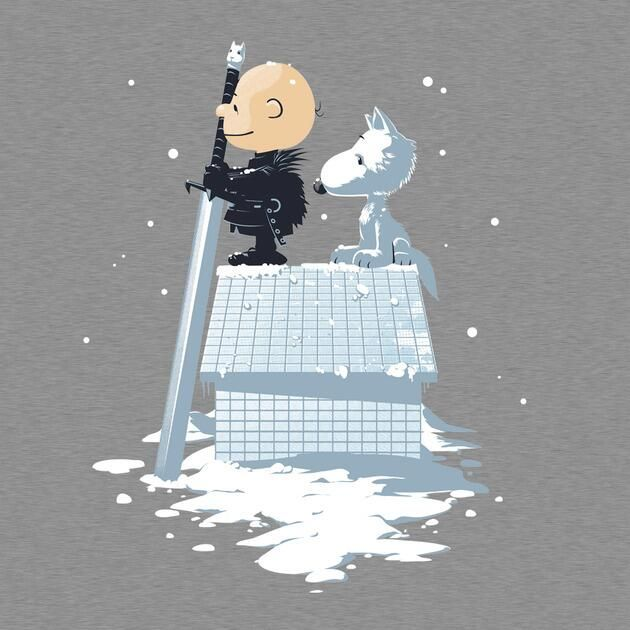 "Game of Peanuts: ""Winter is coming."" (GoT)"