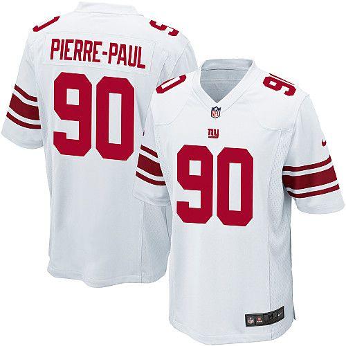 Men's Nike New York Giants #90 Jason Pierre-Paul Limited White Jerse  $69.99
