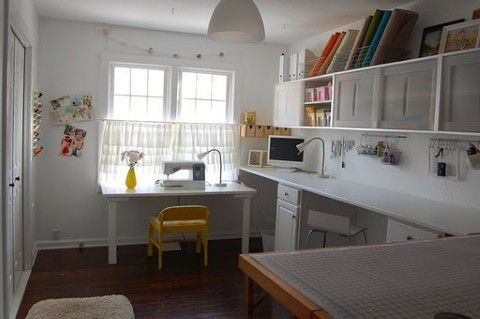 sewing room ideas decorating | Sewing room design ideas may include the decorations and furniture to ...