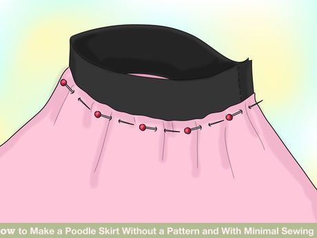 Image titled Make a Poodle Skirt Without a Pattern and With Minimal Sewing Step 10