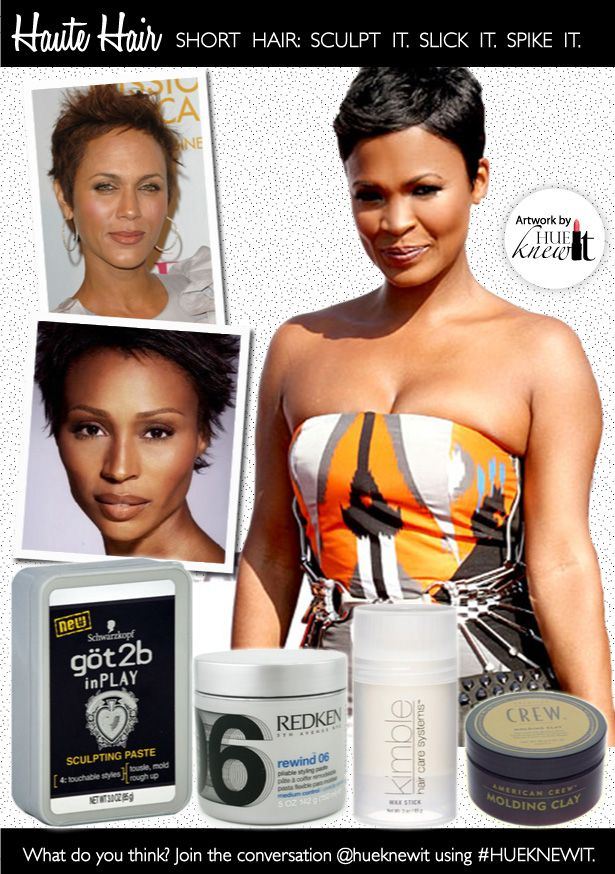 Sculpt it, Slick It, Spike It: How To Maintain Short Hairstyles for Black Women