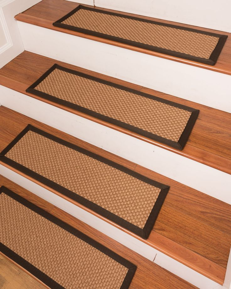 brighton sisal carpet stair treads - Natural Area Rugs