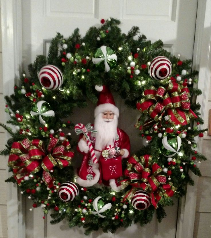 4 ft Christmas Wreath by Lyllie Buggs