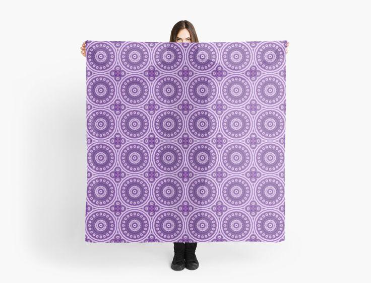 Mystical Violet Blossom von Vandarque