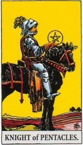 knight of pentacles reversed relationship outcome