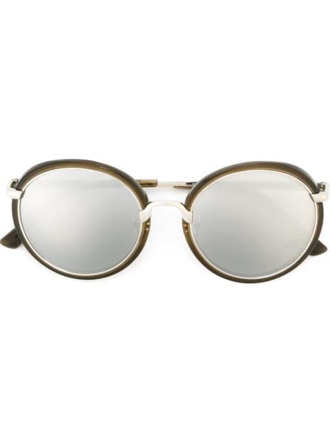 669c900a979 Linda Farrow Contrast Frame Sunglasses