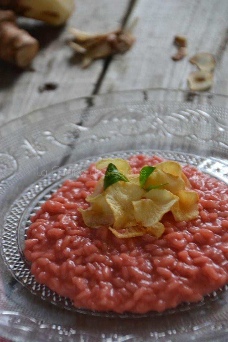 La Cucina di Stagione: Risotto alla barbabietola, Franciacorta, Bagoss e ...