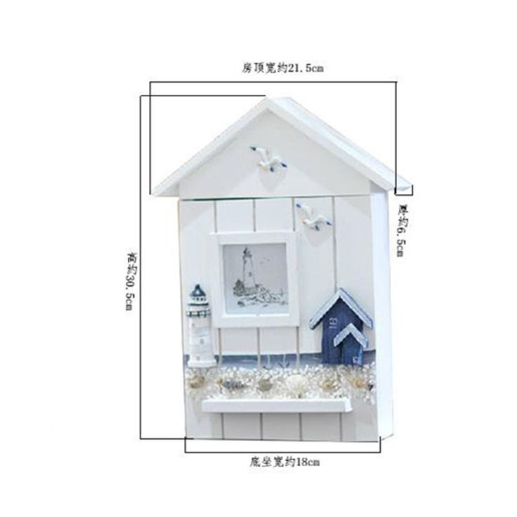 Guaranteed 100% Mediterranean home decor Mediterranean style decorative wooden key boxes vintage wooden storage box
