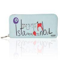 """Portofel din Piele Artificiala, Istanbul, Albastru, 15 x 8,5 cm Bagaje, trolere, portfarduri, sacoșe tip poșetă, toate sunt obiecte de călătorie pe care trebuie să le ai atunci când pleci la drum! Vezi acum Colecția """"Călătorește cu stil"""" și alege ceea ce ți se potrivește! #campaniisharihome  http://sharihome.ro/campanie/calatoreste-cu-stil?c=&o=&l=&p=1"""