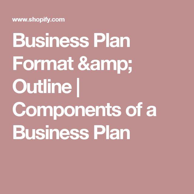 Více než 25 nejlepších nápadů na Pinterestu na téma Business plan - business plan outline template