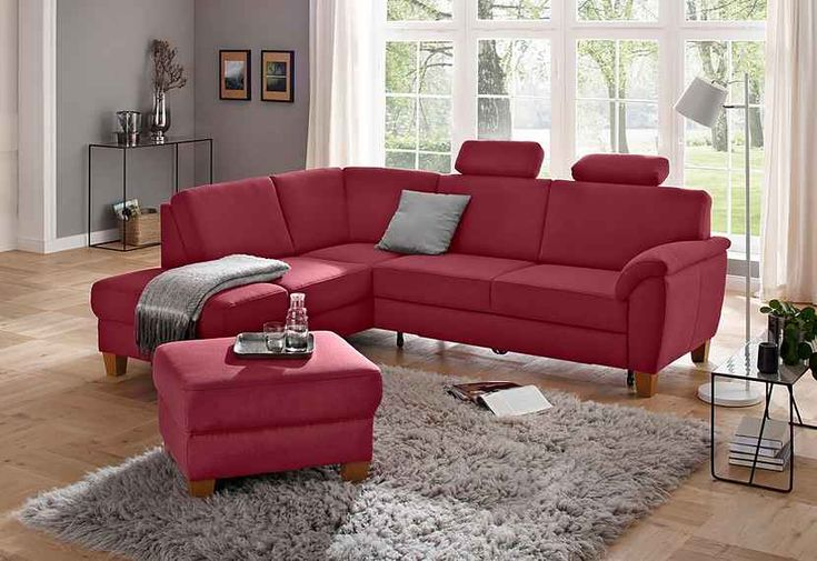 Home Affaire Ecksofa Alta Mit Federkern Und Kontrastnaht Fusse Buche Eichefarben Online Kaufen Ecksofa Sofa Und Sofas