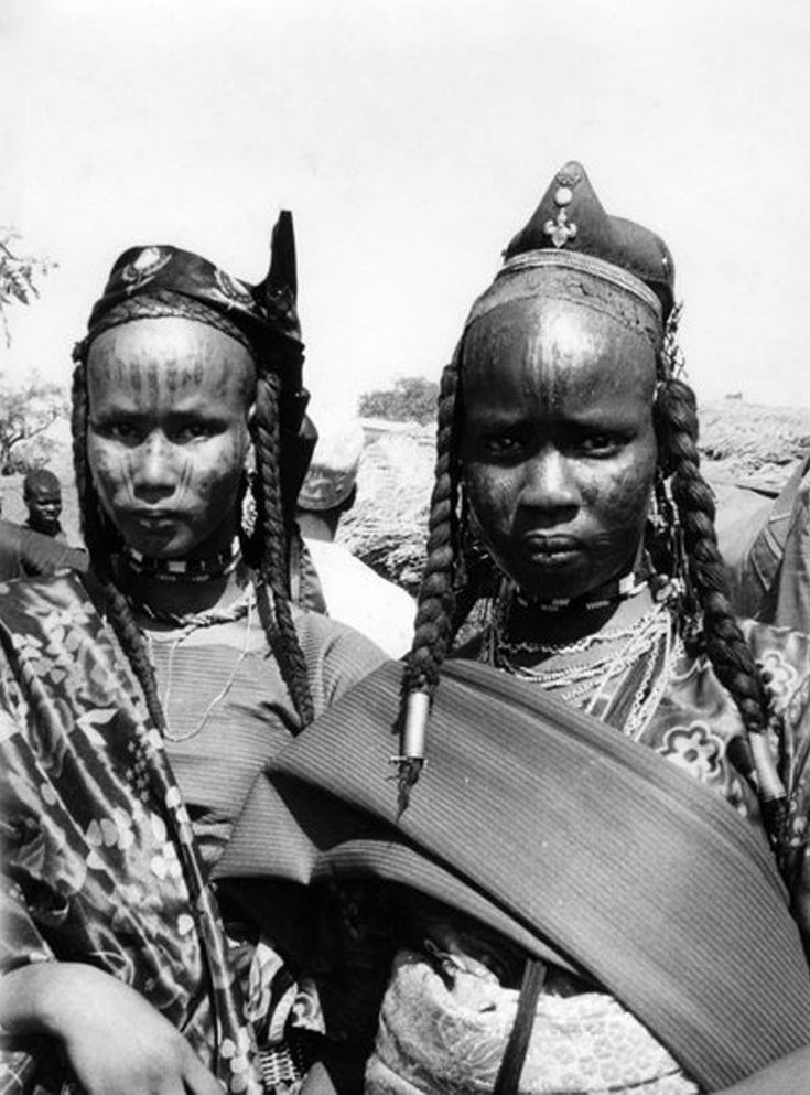 Fulani people | Wodaabe (South of Niger, North of Nigeria, Northeast Cameroon, Southeast Chad, West of Central Africa) ***The Wodaabe people are a subgroup of the Fulani people***
