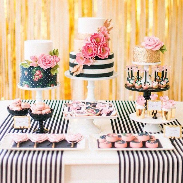 Dessert Tablescape | Kate Spade Inspired