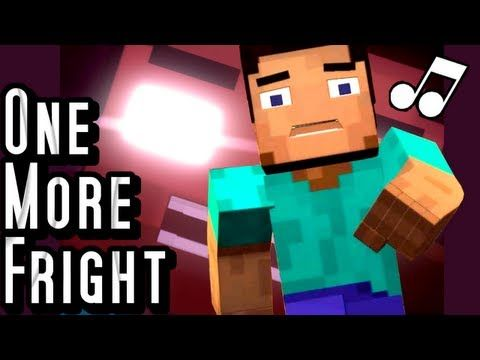 "♪ ""One More Fright"" - A Minecraft Parody of Maroon 5's One More Night (Music Video) - YouTube"