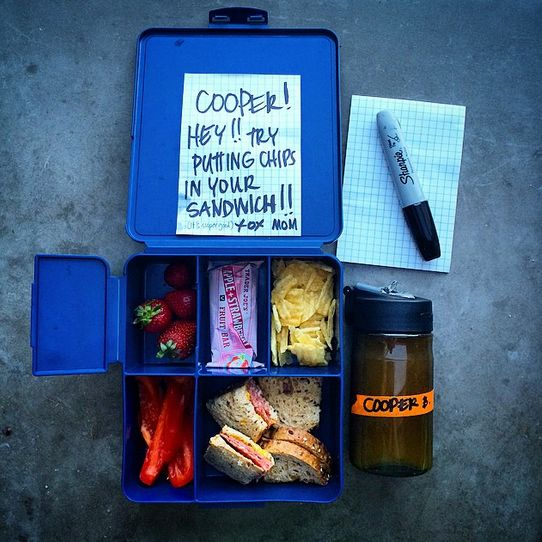 Put a Filter on It -- Brown Bag Lunches: https://food52.com/blog/11274-put-a-filter-on-it-brown-bag-lunches #Food52 #F52grams