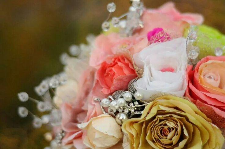 Paper flowers bridal bouquet https://m.facebook.com/PapiliobyPaperflowersfranchise