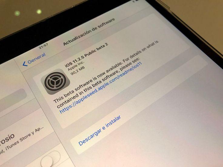 Apple publica su segunda beta de iOS 11.2.5 y tvOS  #Apple #Beta #iOS