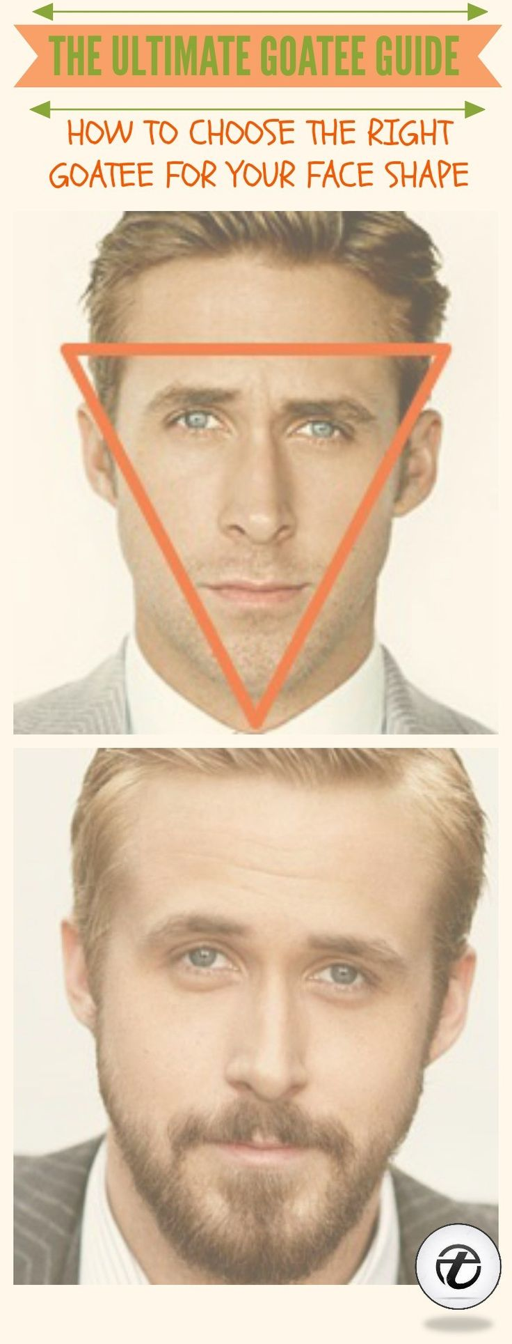 how to choose a goatee for face shape  Most popular types of goatee beards for men #goatee #beard