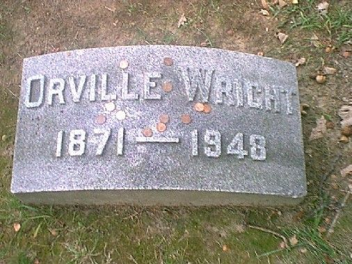Orville Wright( Inventor of the airplane along with his brother) 1871-1948