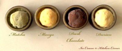 Durian Ice cream Recipe