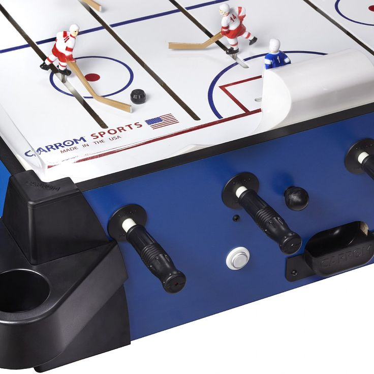 Signature Stick Bubble Hockey Blue With Pedestal