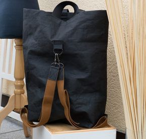 Photo of Quick-sewn backpack made of SnapPap plus – super easy and really chic