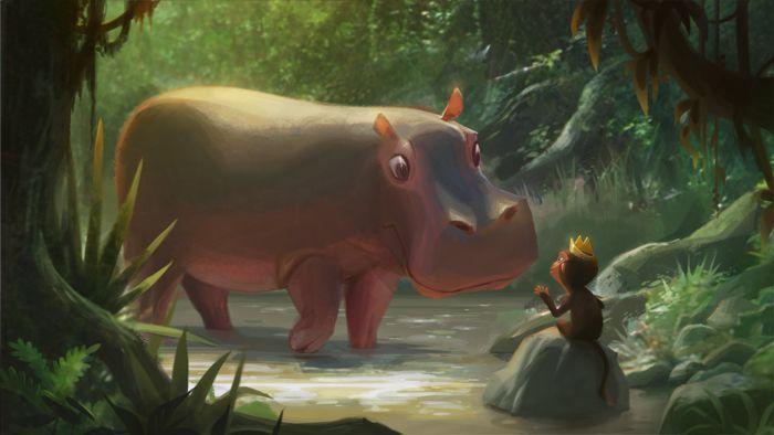 Hippos!!!!: Joey Chou, Joeyart Com, Art Illustrations, Animal Illustrations, Hippo Moments, Hippopotamus Illustrations, Illustrations Animal, Joey Art, Inspiration Art