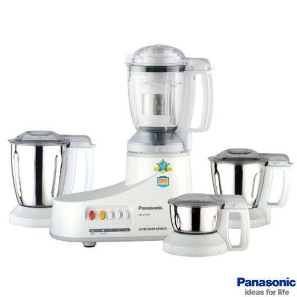 Panasonic Mixer Grinders Buy Panasonic 550 Watt Super Mixer Grinder Mx Ac400 4 Jars Online Oyekitchen Com Buy Kitchen Jar Storage Mixer