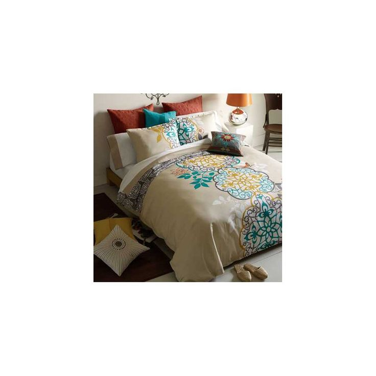 Shangri La 3 Pieces Duvet Cover Set